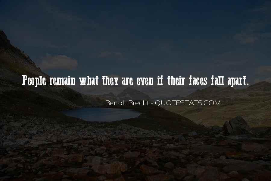 Quotes About Bertolt Brecht #599863