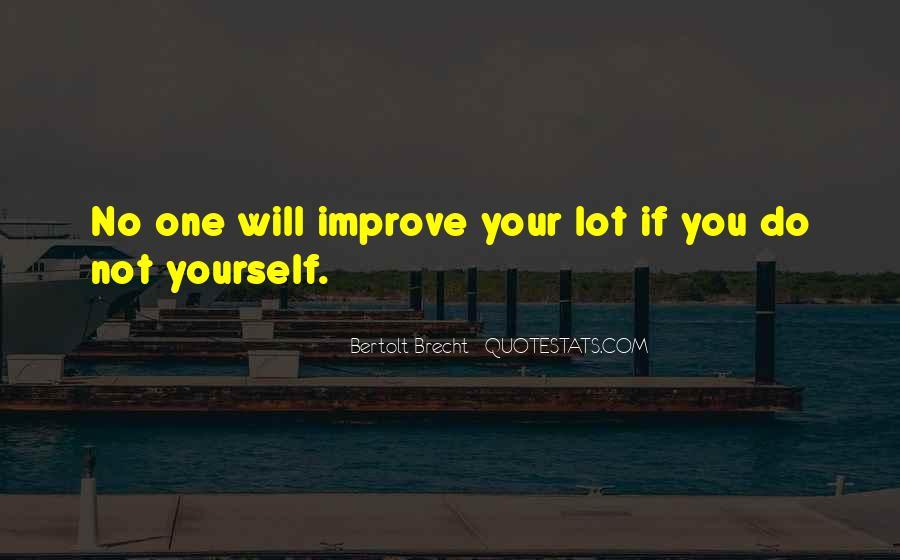 Quotes About Bertolt Brecht #617232