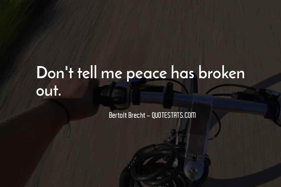 Quotes About Bertolt Brecht #634925