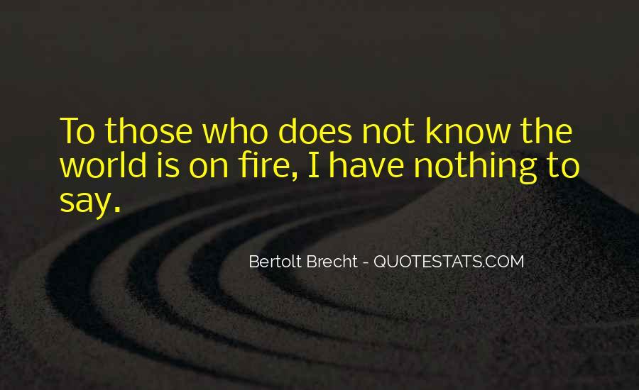 Quotes About Bertolt Brecht #662816