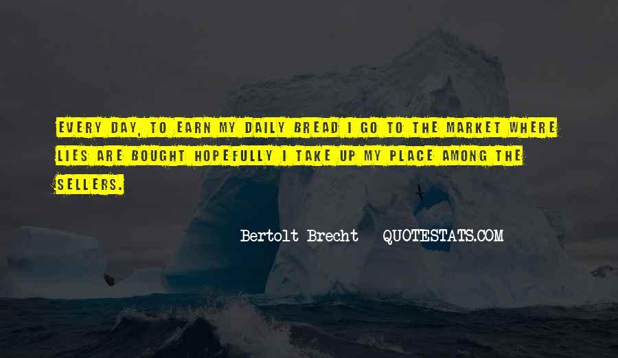 Quotes About Bertolt Brecht #677800