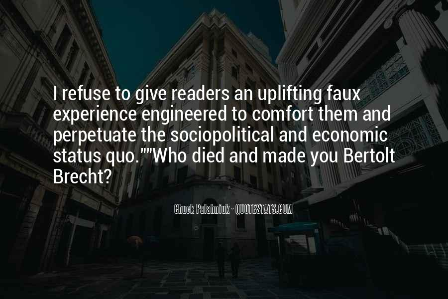Quotes About Bertolt Brecht #677833