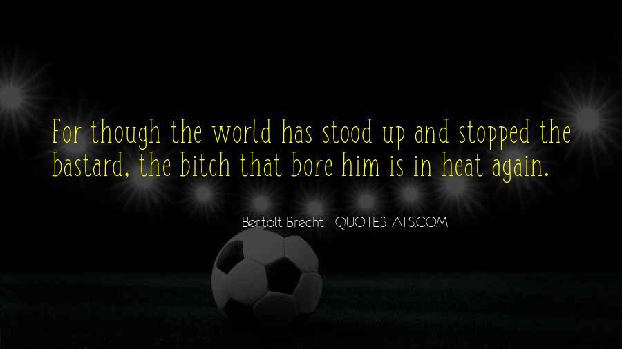 Quotes About Bertolt Brecht #683244