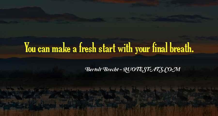 Quotes About Bertolt Brecht #687664