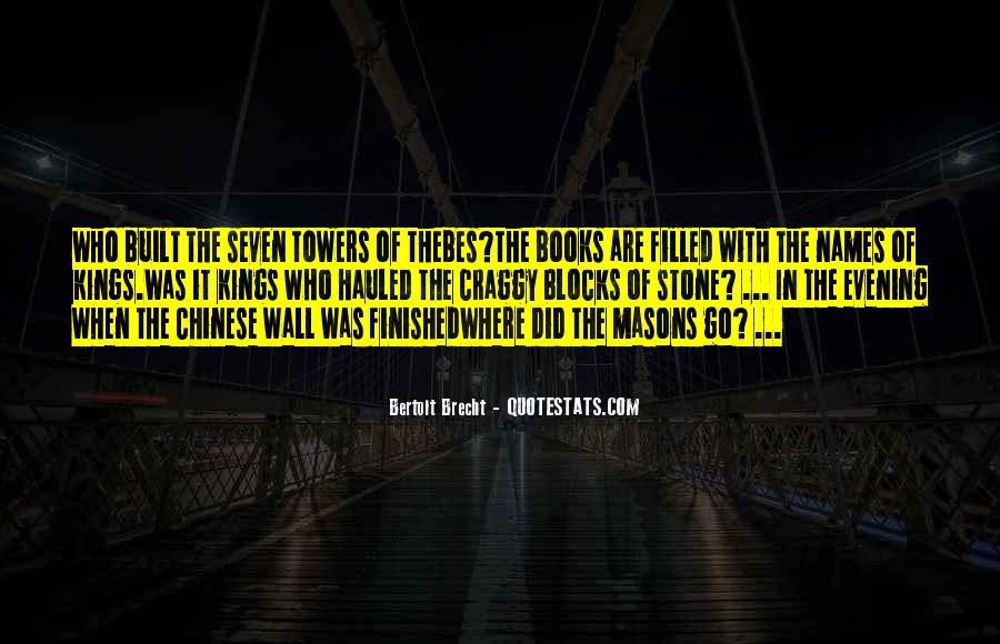 Quotes About Bertolt Brecht #693778