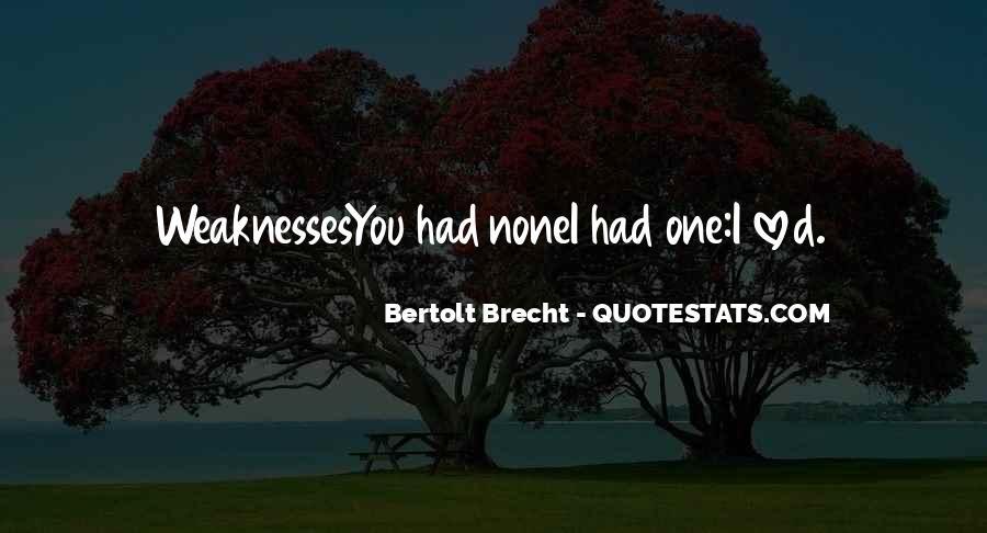 Quotes About Bertolt Brecht #729445