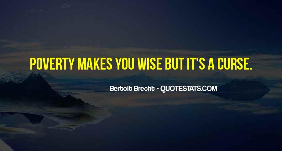 Quotes About Bertolt Brecht #76334