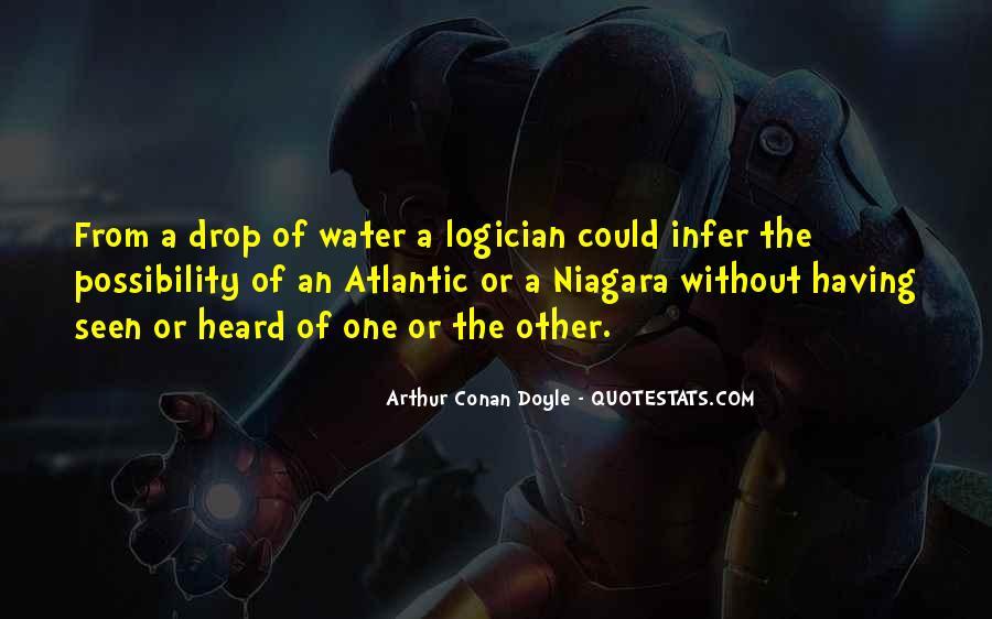Quotes About Arthur Conan Doyle #10230