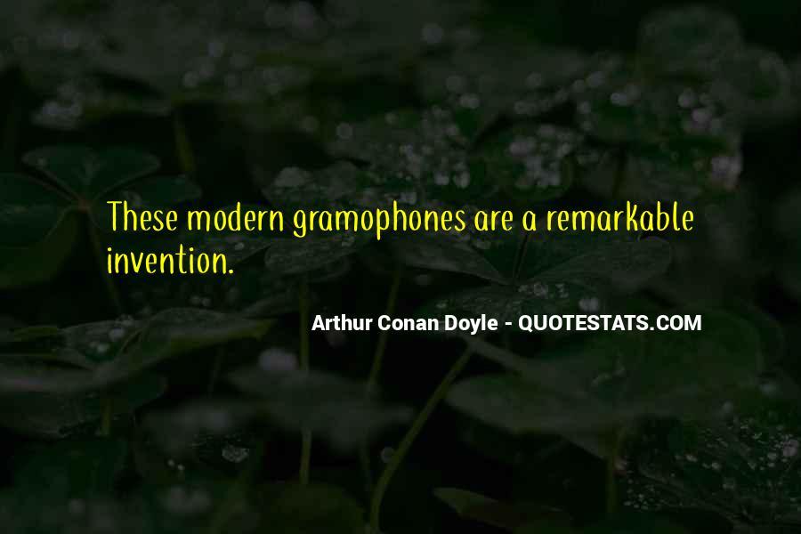 Quotes About Arthur Conan Doyle #102752