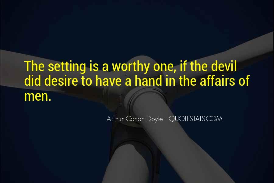 Quotes About Arthur Conan Doyle #111020