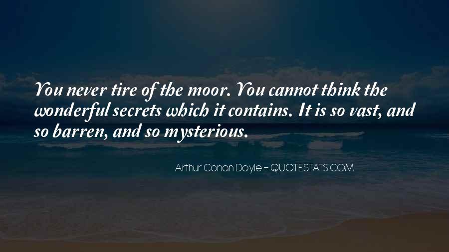 Quotes About Arthur Conan Doyle #112447