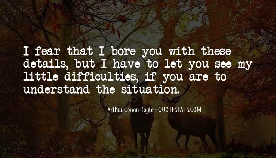 Quotes About Arthur Conan Doyle #115023
