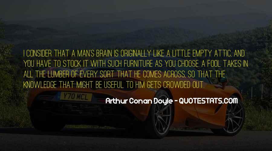 Quotes About Arthur Conan Doyle #115132