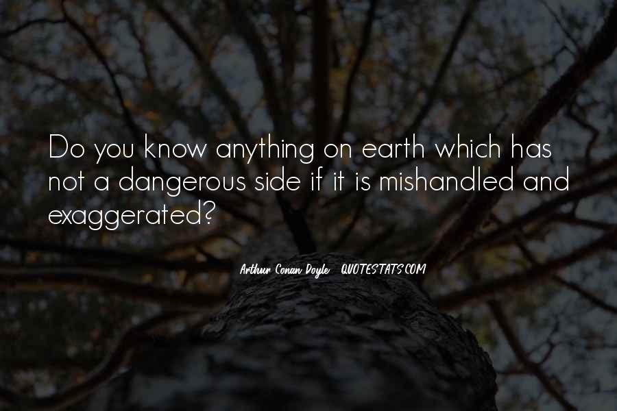 Quotes About Arthur Conan Doyle #135155