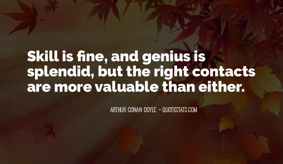 Quotes About Arthur Conan Doyle #142867