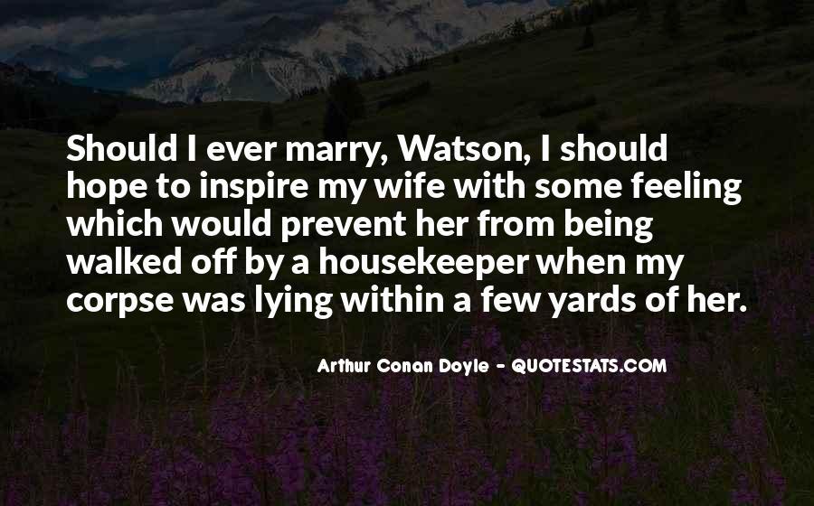 Quotes About Arthur Conan Doyle #148197