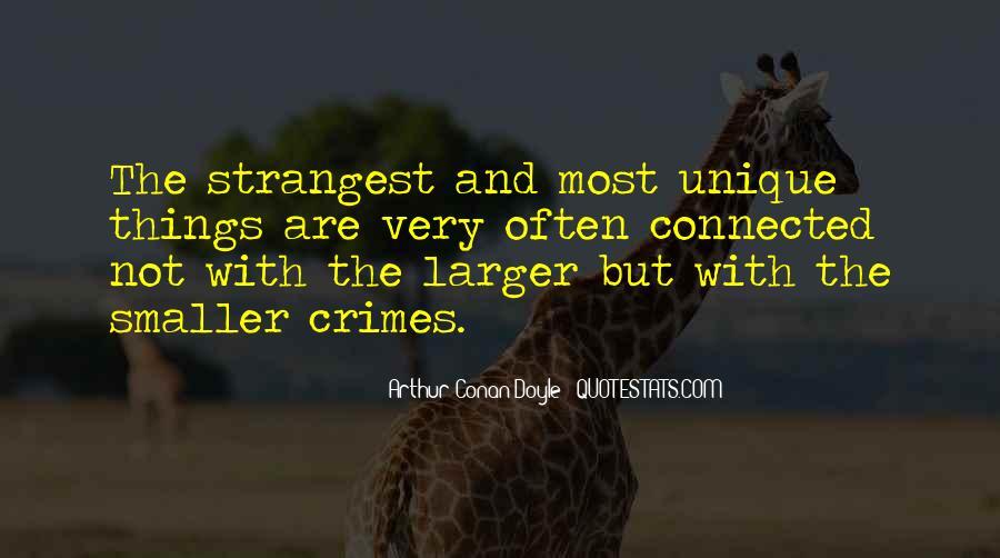 Quotes About Arthur Conan Doyle #149114