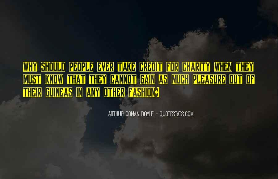Quotes About Arthur Conan Doyle #152668