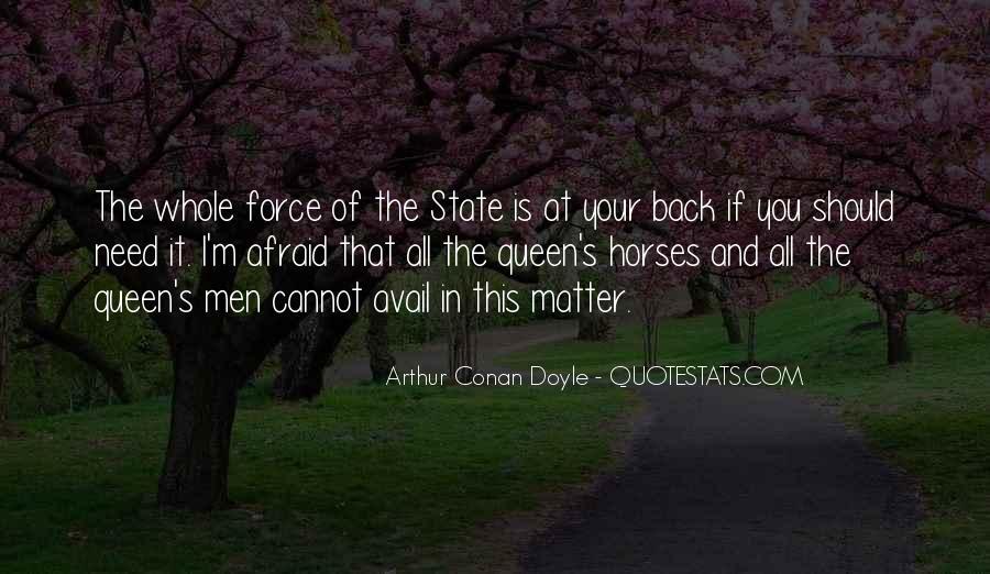 Quotes About Arthur Conan Doyle #160479