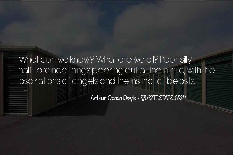 Quotes About Arthur Conan Doyle #1611