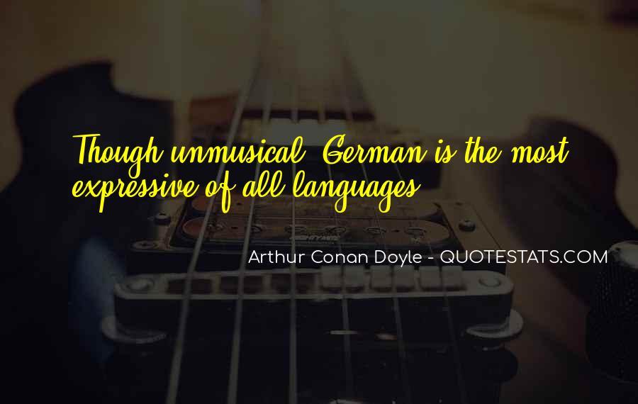 Quotes About Arthur Conan Doyle #162728