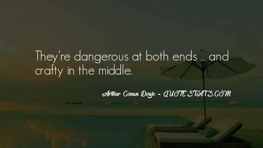Quotes About Arthur Conan Doyle #168483