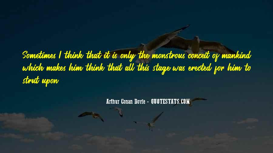 Quotes About Arthur Conan Doyle #180536