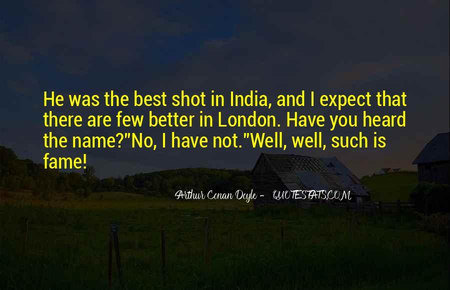 Quotes About Arthur Conan Doyle #197332