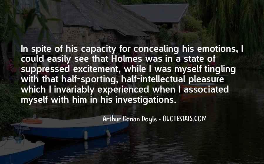 Quotes About Arthur Conan Doyle #2983