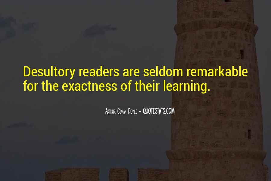 Quotes About Arthur Conan Doyle #30380