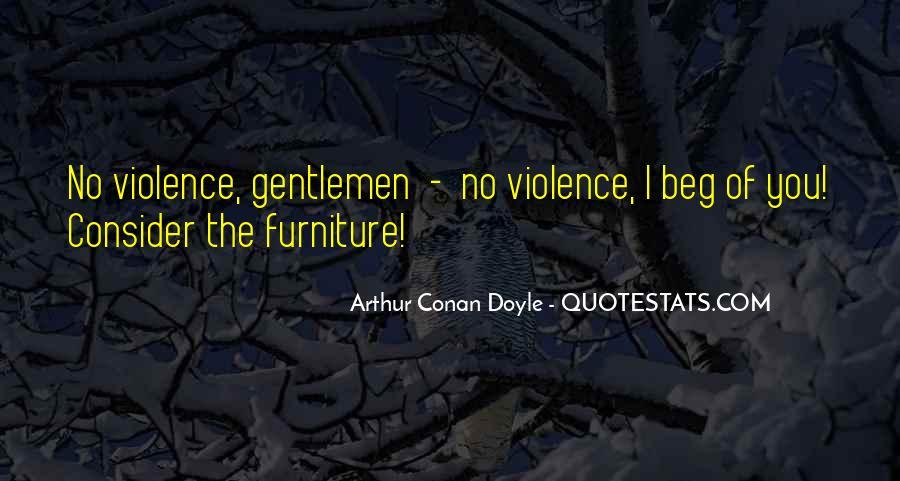 Quotes About Arthur Conan Doyle #43012