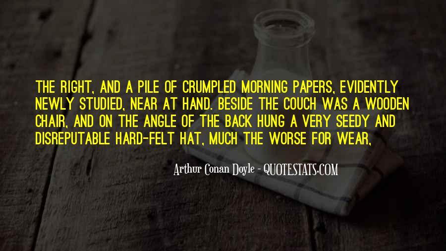 Quotes About Arthur Conan Doyle #44682