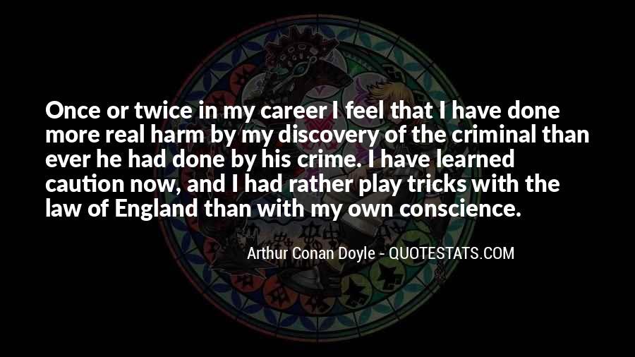 Quotes About Arthur Conan Doyle #45731