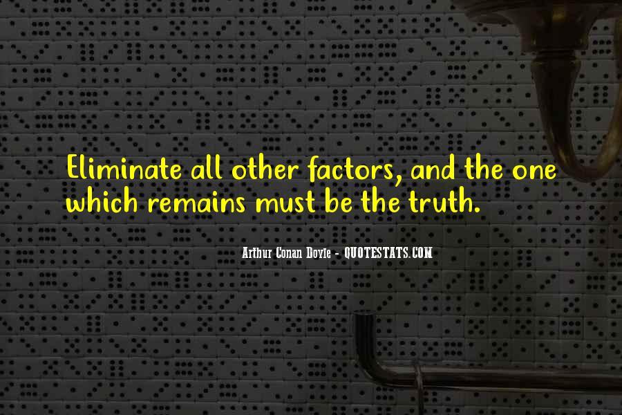 Quotes About Arthur Conan Doyle #46258