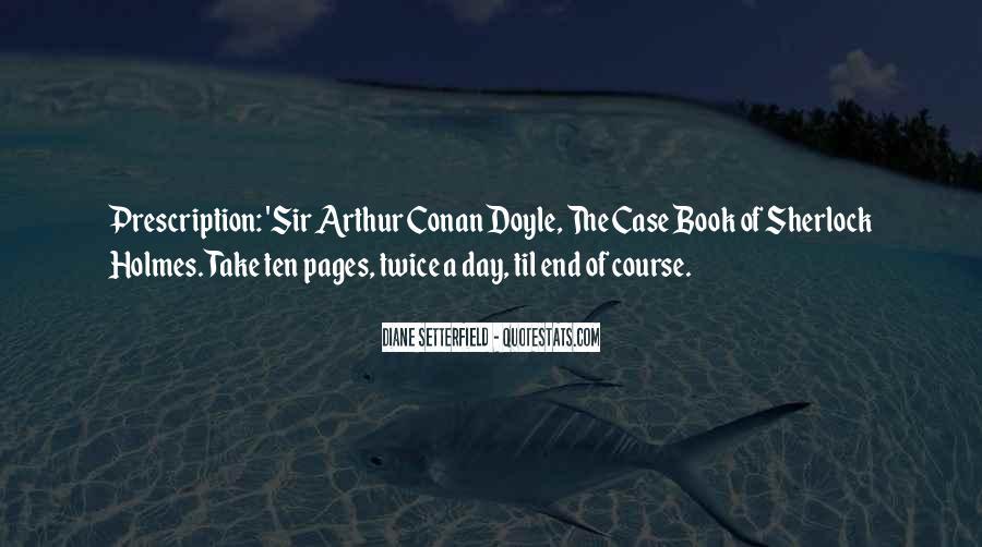 Quotes About Arthur Conan Doyle #50079