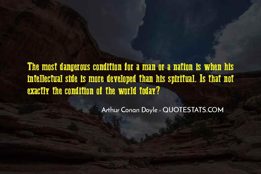 Quotes About Arthur Conan Doyle #56710