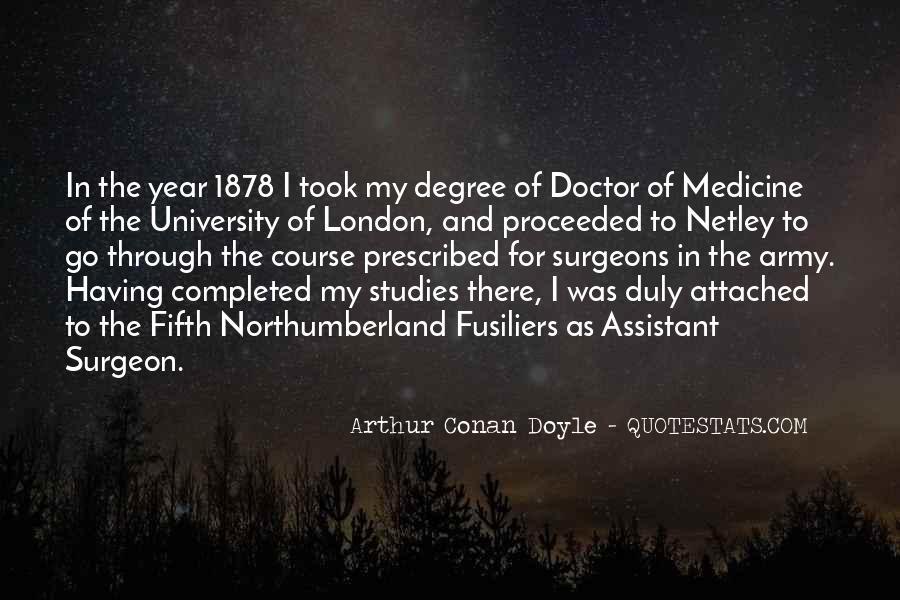 Quotes About Arthur Conan Doyle #60447