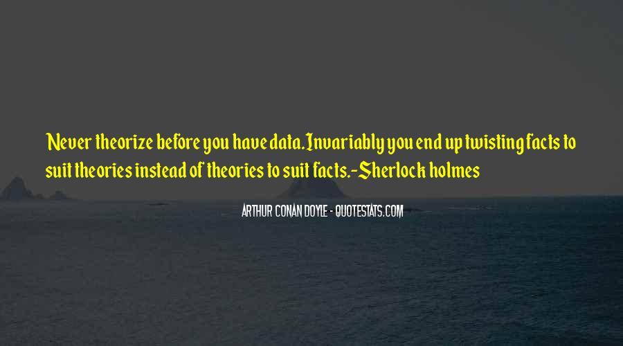 Quotes About Arthur Conan Doyle #76846