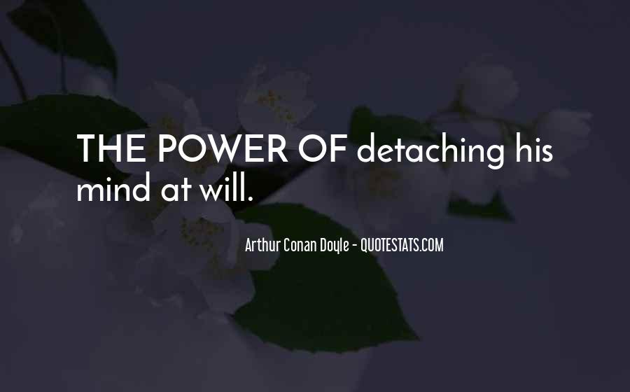 Quotes About Arthur Conan Doyle #87039