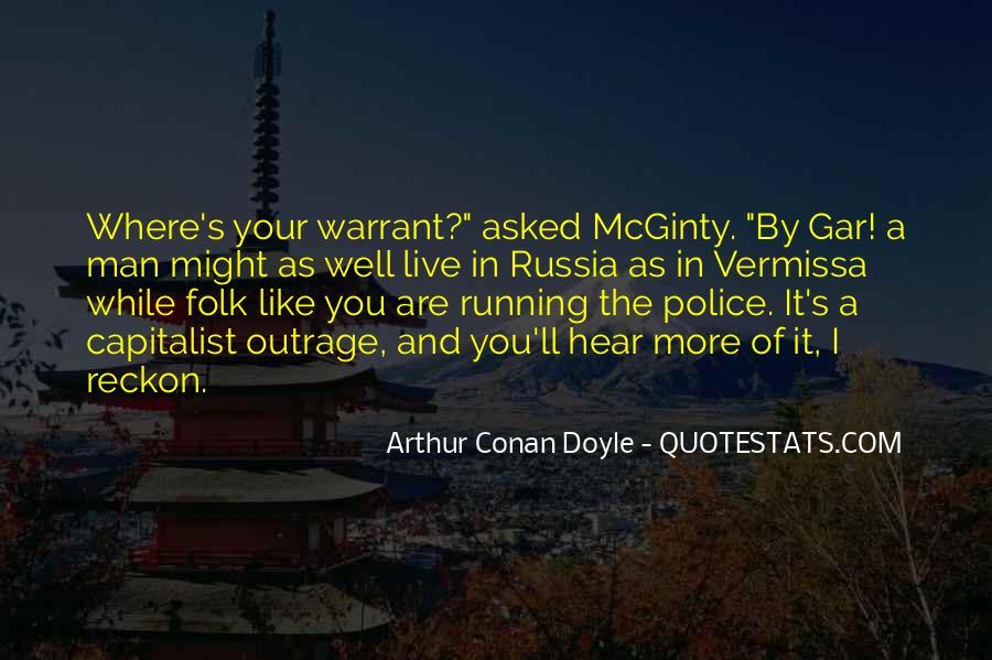 Quotes About Arthur Conan Doyle #87496