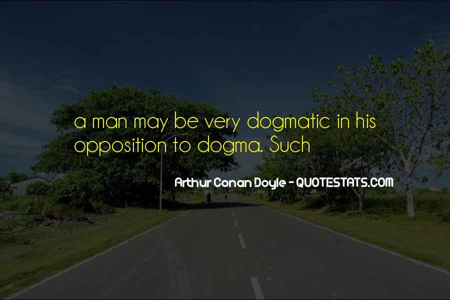 Quotes About Arthur Conan Doyle #88040