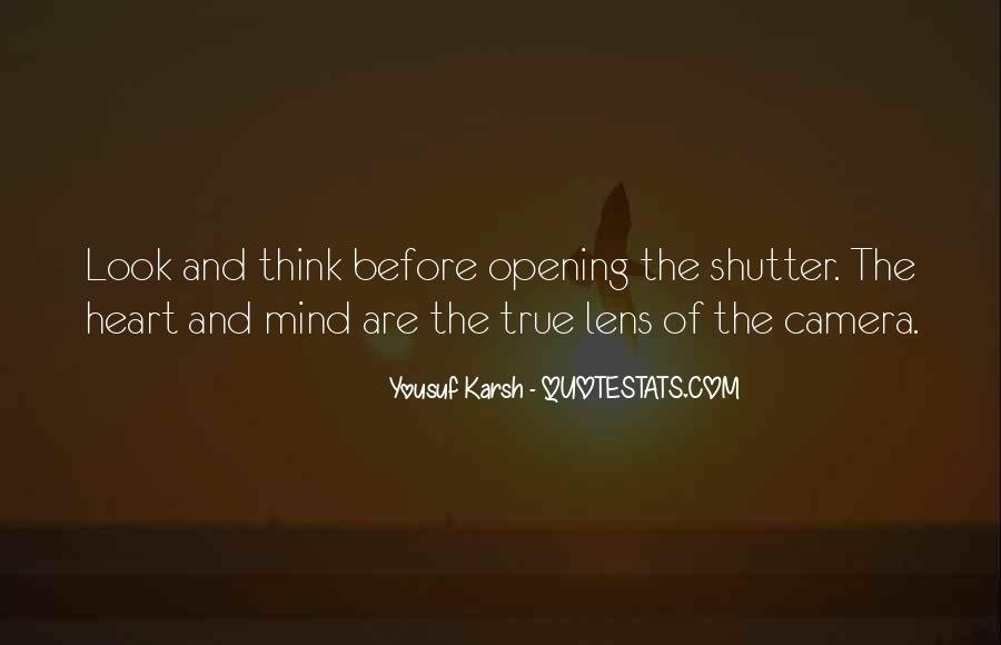 Quotes About Yousuf Karsh #735033