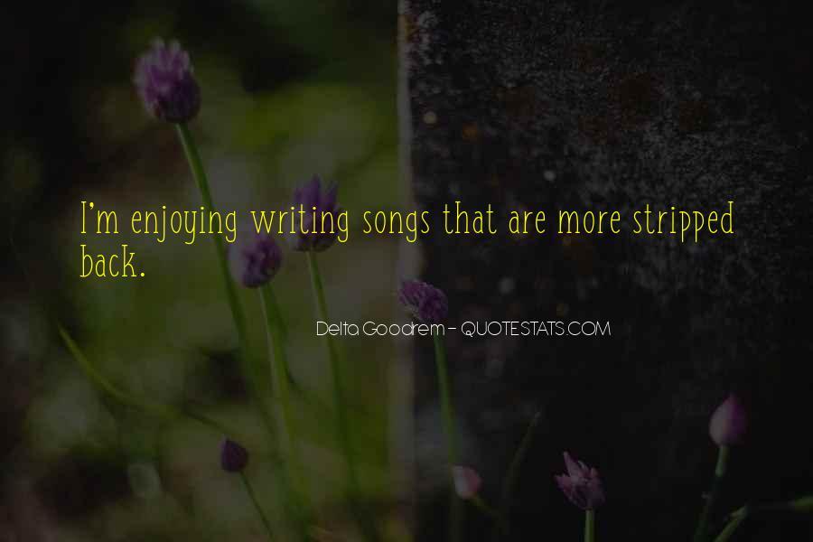 Quotes About Delta Goodrem #1261055
