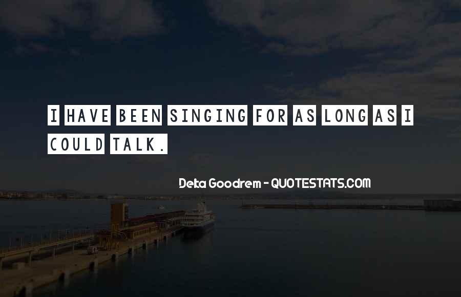 Quotes About Delta Goodrem #1581092