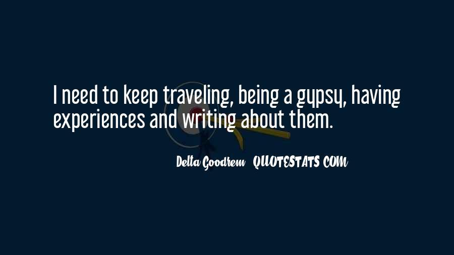 Quotes About Delta Goodrem #475732