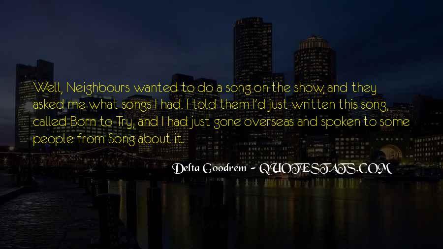 Quotes About Delta Goodrem #882391
