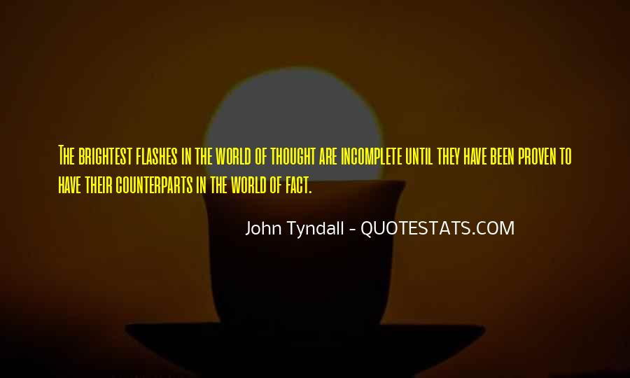 Tyndall Quotes #1070955