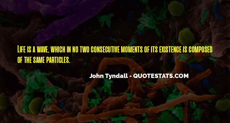 Tyndall Quotes #1313379