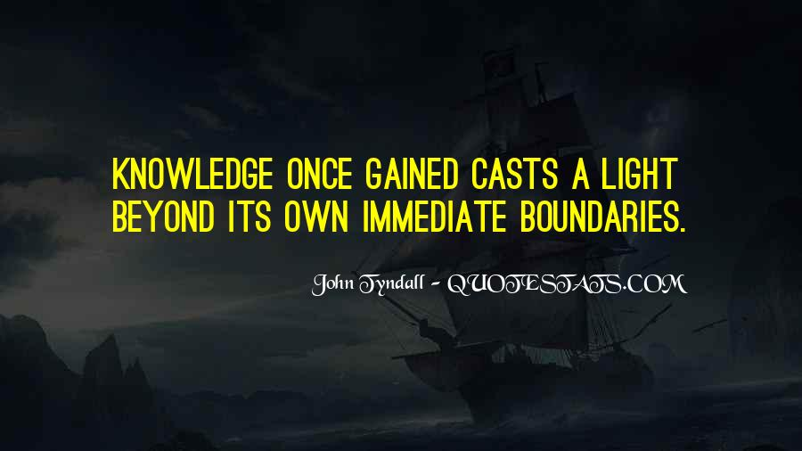 Tyndall Quotes #670835