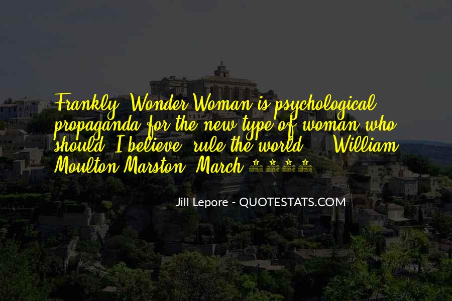 Type Of Woman Quotes #708506